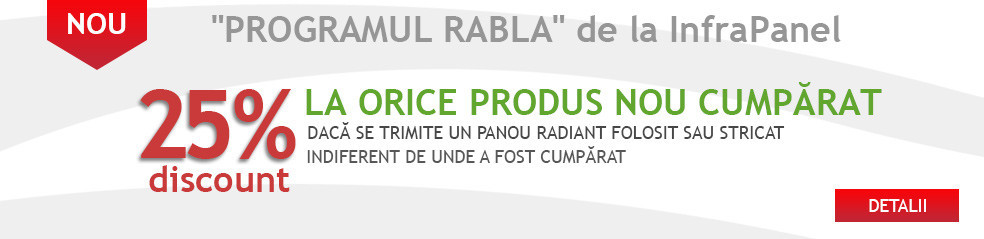 Program rabla InfraPanel