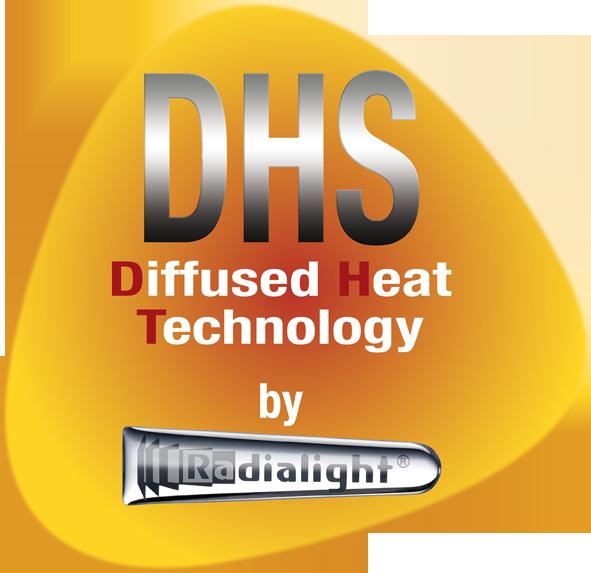 Sistem de incalzire Radialight DHS: radiatie infrarosu transmisa difuz