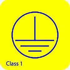 Protectie electrica, clasa I