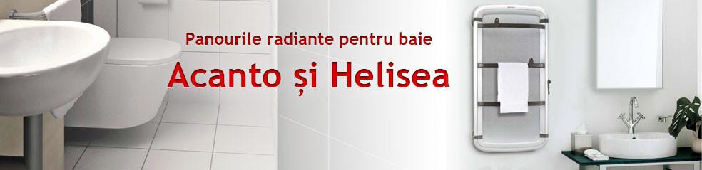 Panouri pentru baie Acanto & Helisea